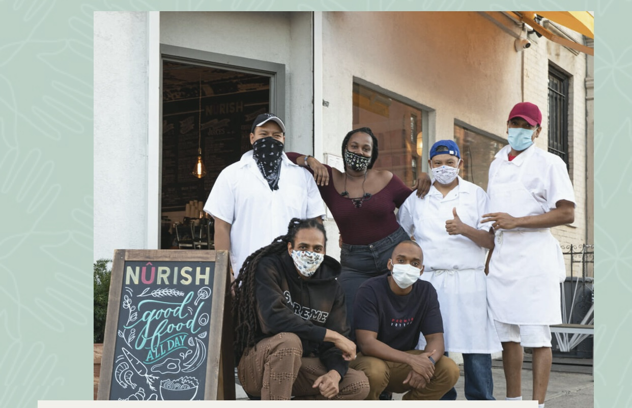 Heroes: OFF THE PLATE. LOCAL KITCHEN MAKING NATIONAL IMPACTS.