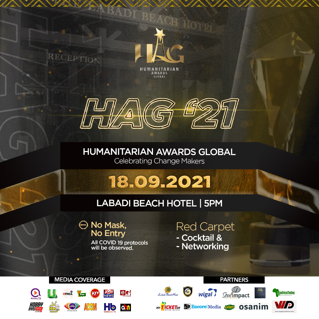 Date Leading To Humanitarian Awards Global 2021 Announced.