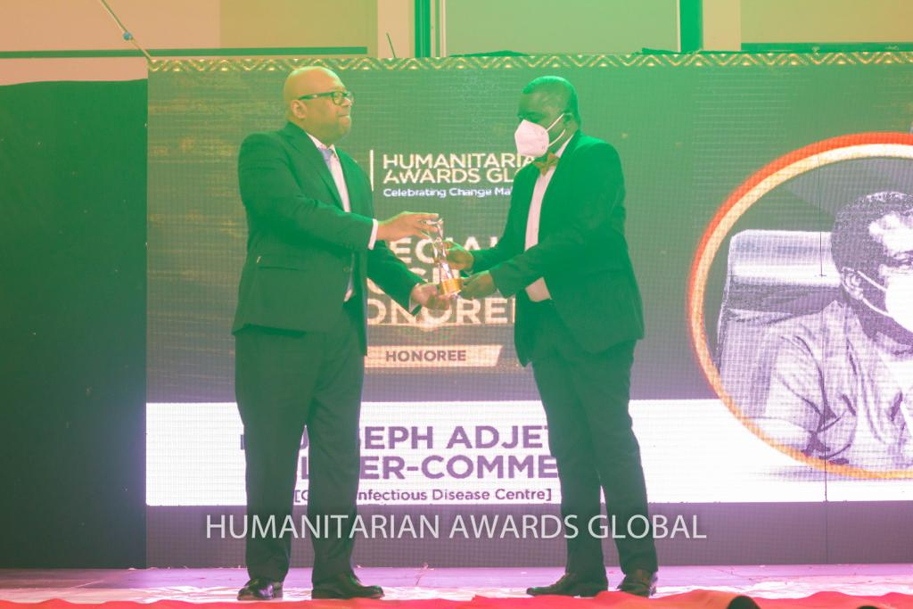 Dr Joseph A. Oliver-Commey honoured at Humanitarian Awards Global