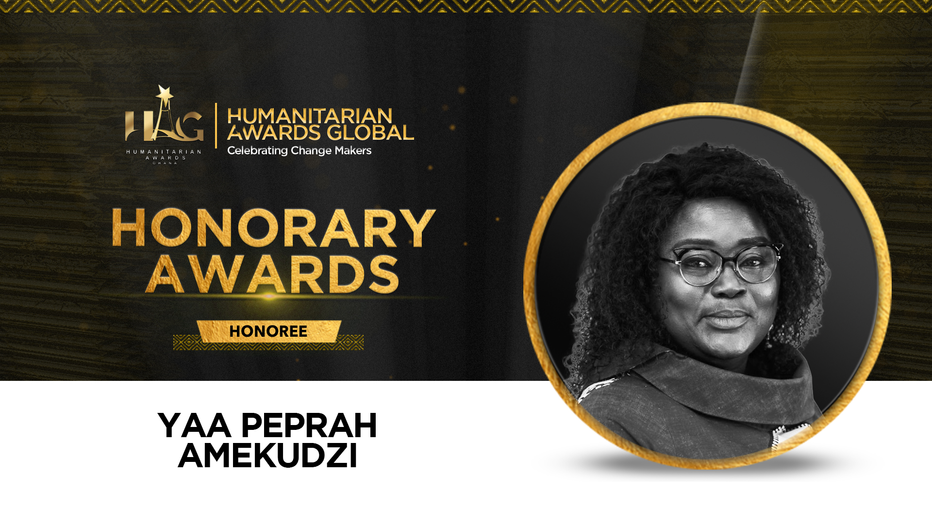 Yaa Peprah Amekudzi To Receive Honorary Award At Humanitarian Awards Global