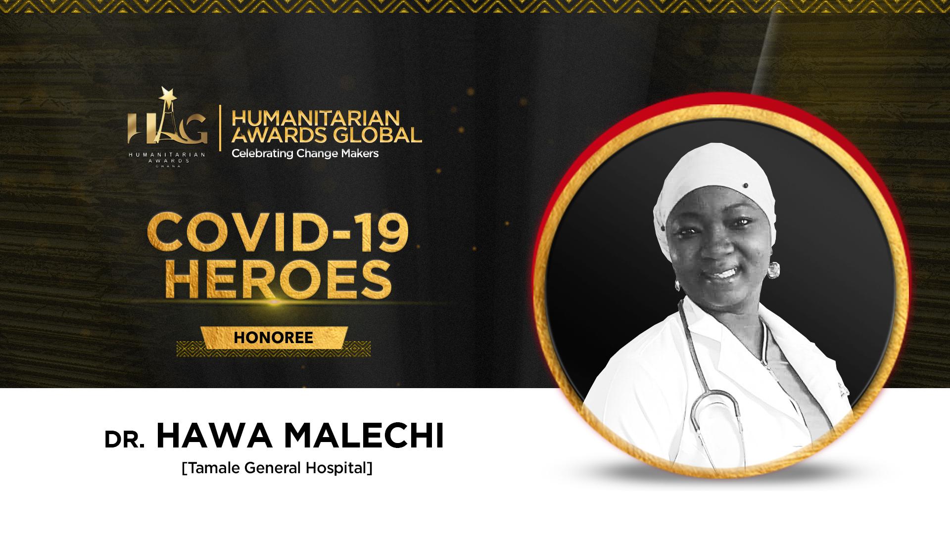 Dr Hawa Malechi To Be Honored As Covid 19 Hero at Humanitarian Awards Global