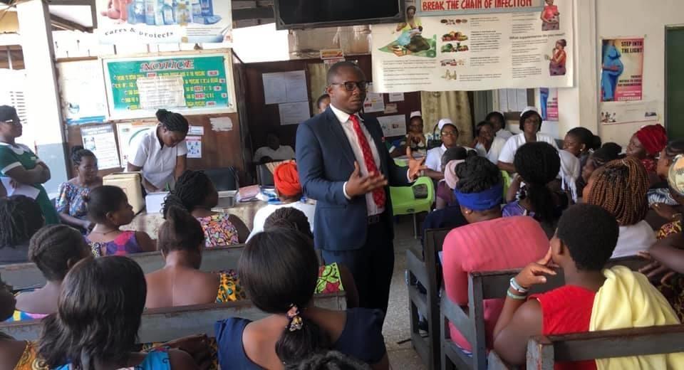 Global Goodwill Ambassador Creating an Impact : Wisdom Dordoe